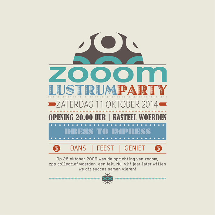 zooom lustrumfeest 2014